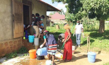 AYLF-UCBC: Assainissement des latrines, leardship serviteur…
